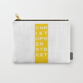 Christopher Street - NYC - Yellow Carry-All Pouch