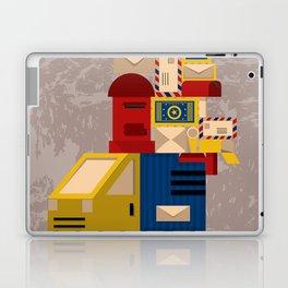 Postman's Post-er poster Laptop & iPad Skin