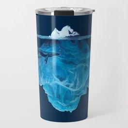 In the deep (iceberg) Travel Mug