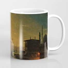 Constantinople (Istanbul) by Moonlight by Ivan Aivazovsky Coffee Mug