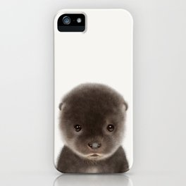 Baby Otter iPhone Case