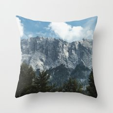 Waxenstein #2 Throw Pillow