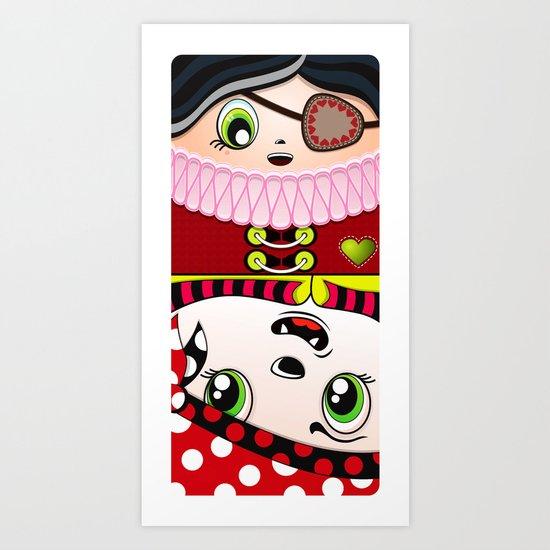 Beware the Square II Art Print