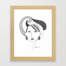 Beauty's Where you Find it Framed Art Print
