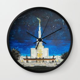 Denver Colorado LDS Temple Wall Clock