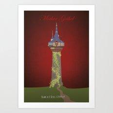 Mother Gothel | Villains do It Better Art Print