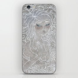 Young Medusa iPhone Skin