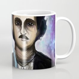 Edgar Allen Poe and Black Cat Coffee Mug