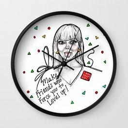 #STUKGIRL MADDY Wall Clock