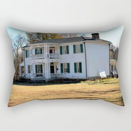 Cherokee Nation - The Historic George M. Murrell Home, No. 5 of 5 Rectangular Pillow