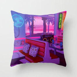 Cocktails And Dreams Throw Pillow