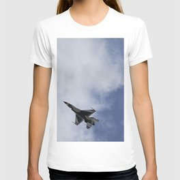 Thunderbird F16 F-16 Fighting Falcon Fighter Aircraft/Airplane T-shirt