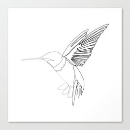 """Animals Collection"" - Humming bird Canvas Print"