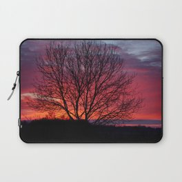 Autumn Sunrise At Chasewater Laptop Sleeve