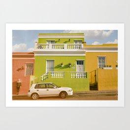 Bo-Kaap Cape Town Art Print