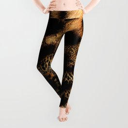 Leopard Shadow Leggings
