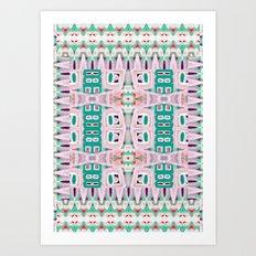 Geo Tribal Art Print