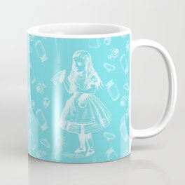 Alice in Wonderland and Jars Coffee Mug