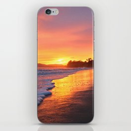 """Sunsets """"Coral Casio Sunset"""" iPhone Skin"""