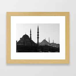 Mosques of Istanbul Framed Art Print