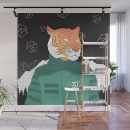 I AM TIGER - GLOBAL TIGER DAY 2017 Wall Mural