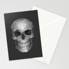 Polygons Skull Stationery Cards
