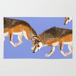 Totem Italian wolf (italicus) Rug