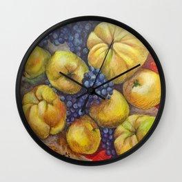 Round Aiwa Wall Clock