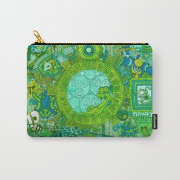 """The spark of sloth diversions, influence, friends & self"" Carry-All Pouch"