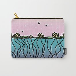 Underwater Lilies Carry-All Pouch