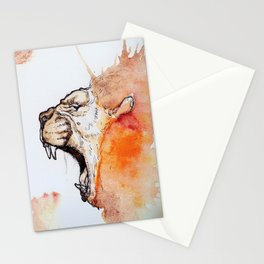 Lion strength Stationery Cards