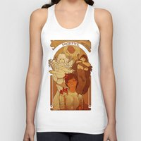 berserk Tank Tops featuring Sacrifice by Marta Milczarek