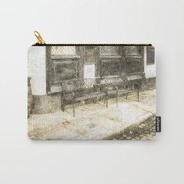 Pub Resting Place Vintage Carry-All Pouch