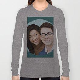 Jenna Ushkowitz and Kevin Mchale Long Sleeve T-shirt