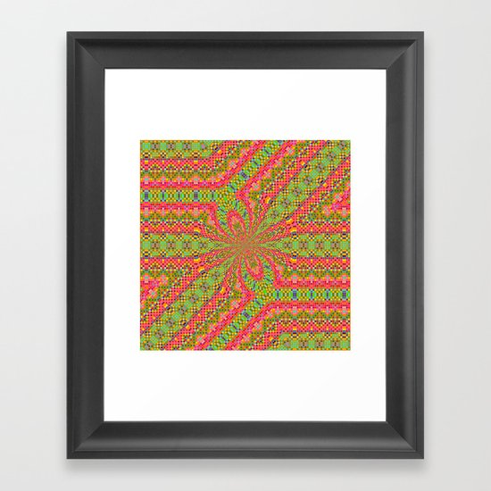 Ribbons and Bow... Framed Art Print