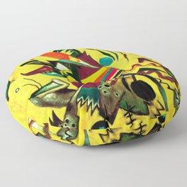Wassily Kandinsky - Points - Abstract Art Floor Pillow