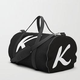 Alphabet ....K Duffle Bag