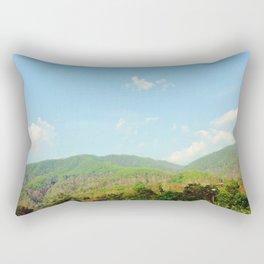 Aero Blue Sky Rectangular Pillow