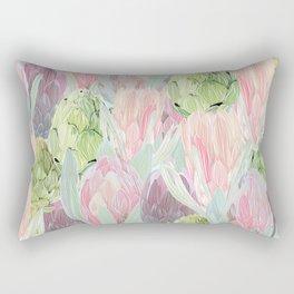 Protea and artichokes Rectangular Pillow