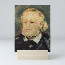 Richard Wagner (1813 – 1883) by Auguste Renoir (1841 - 1919) in 1882 Mini Art Print