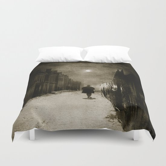 Voice Of Lights Duvet Cover