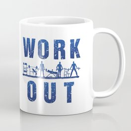 Work Out Coffee Mug