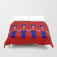 uk Duvet Covers featuring UK by Marcus Wild