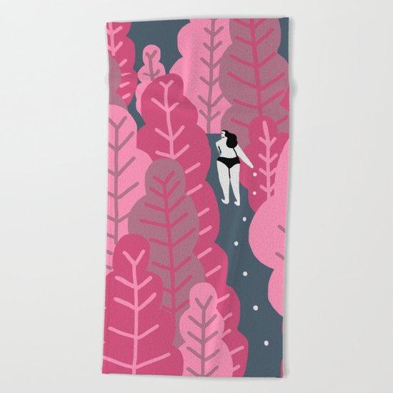 Candy Beach Towel