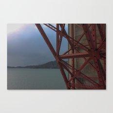 Golden Gate Geometry 1 Canvas Print