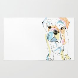 Bulldog Colour Rug