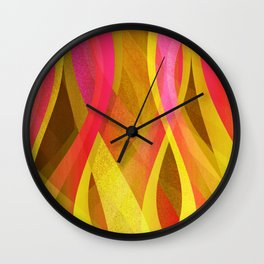 Abstract background G139 Wall Clock