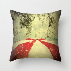 It Can't Rain All The Time Throw Pillow
