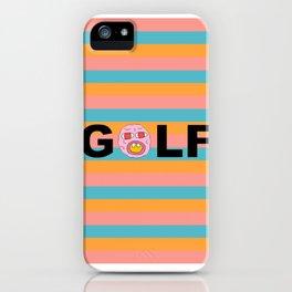 golf tritone iPhone Case