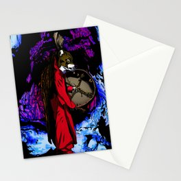 WOLF CAVE Stationery Cards